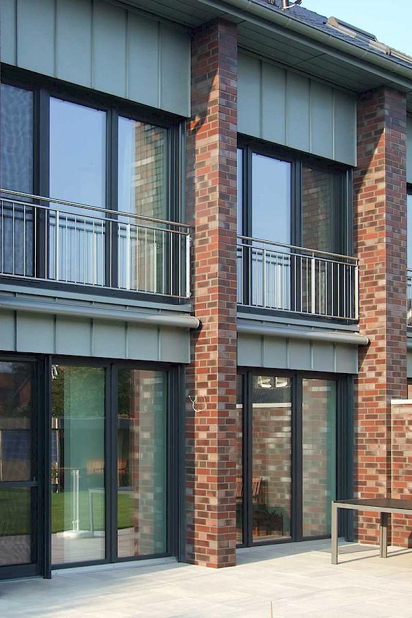 Zwei DHH als Kfw 55 Haus Architekturbüro Michael Klein